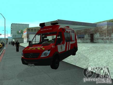 Mercedes-Benz Sprinter R-4 для GTA San Andreas