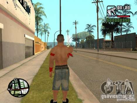 John Cena для GTA San Andreas пятый скриншот