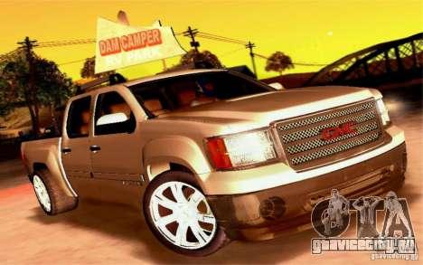 GMC Sierra 2011 для GTA San Andreas вид сбоку