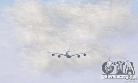 Boeing 747-8F для GTA San Andreas вид слева