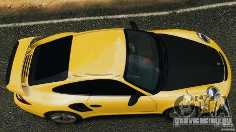 Porsche 911 GT2 RS 2012 v1.0 для GTA 4 вид справа