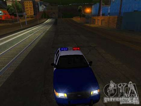 Ford Crown Victoria Belling State Washington для GTA San Andreas вид сверху