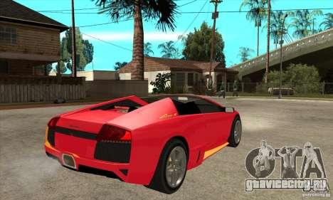 Lamborghini Murcielago LP650 для GTA San Andreas
