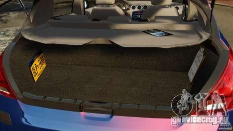Peugeot 308 2007 для GTA 4 вид сверху