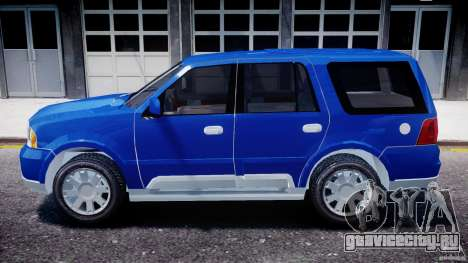 Lincoln Navigator 2004 для GTA 4 вид слева