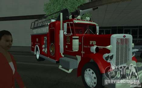 Peterbilt 379 Fire Truck ver.1.0 для GTA San Andreas