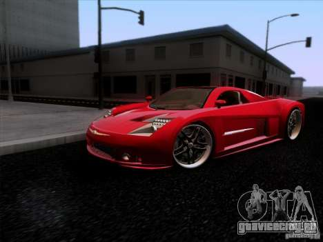 Chrysler ME Four-Twelve для GTA San Andreas вид слева