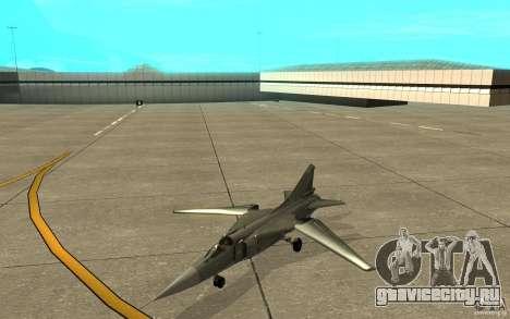 МиГ-23 Flogger для GTA San Andreas вид слева