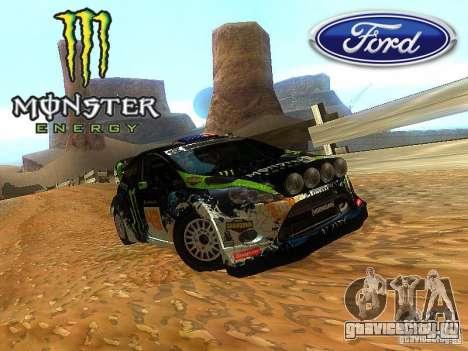 Ford Fiesta RS WRC 2012 для GTA San Andreas