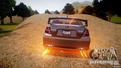 Subaru Impreza WRX STi 2011 для GTA 4 колёса