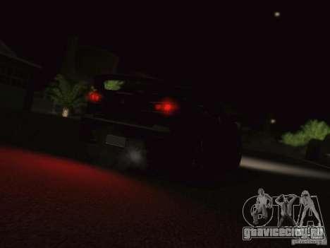 Mitsubishi  Lancer Evo X BMS Edition для GTA San Andreas вид сзади