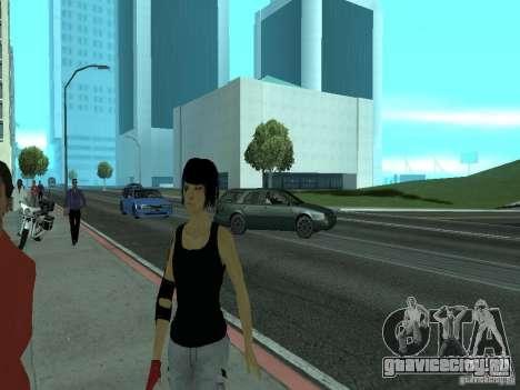 Mirrors Edge Faith для GTA San Andreas