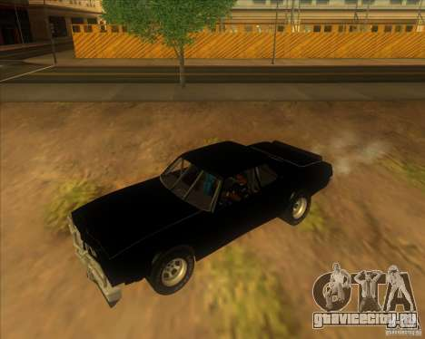 Jupiter Eagleray MK5 для GTA San Andreas вид слева
