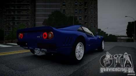 Ferrari 288 GTO EPM для GTA 4 вид изнутри