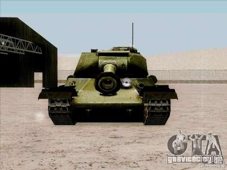 Т-34 для GTA San Andreas вид справа