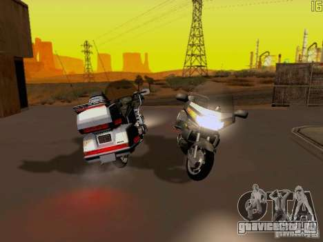 Honda Goldwing GL 1500 1990 г. для GTA San Andreas вид сзади