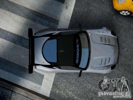 Ferrari 599xx 2012 для GTA 4 вид сзади
