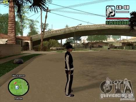 Полная замена магазинов Binco на Adidas для GTA San Andreas