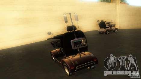 Elektroscooter - Speedy для GTA San Andreas вид изнутри