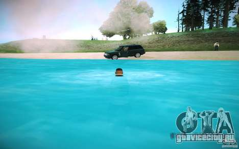 HD-вода для GTA San Andreas шестой скриншот