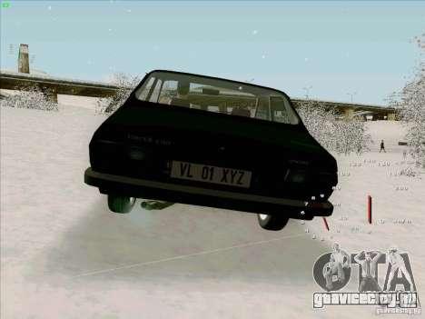 Dacia 1310 Sport для GTA San Andreas вид сзади слева