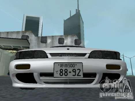 Nissan Skyline R32 Zenki для GTA San Andreas вид сбоку