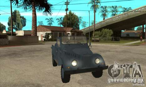 ARO Simple для GTA San Andreas вид сзади