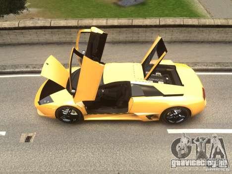 Lamborghini Murcielago LP640 2007 для GTA 4 вид сзади слева
