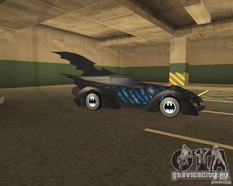 Batmobile 1995 для GTA San Andreas