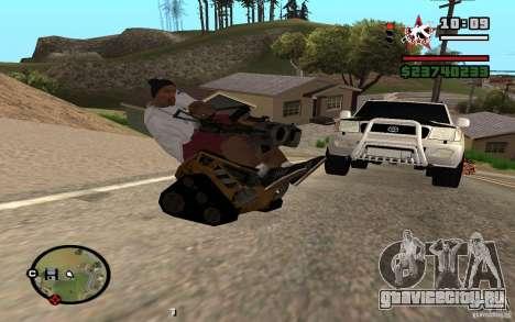 Валли для GTA San Andreas вид слева