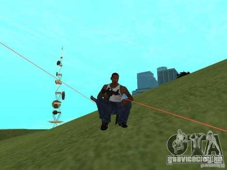 Laser Weapon Pack для GTA San Andreas пятый скриншот