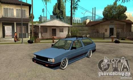 VW Fox 1989 v.2.0 для GTA San Andreas