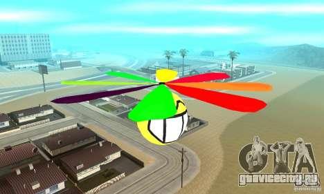 Смайлик в небесах для GTA San Andreas