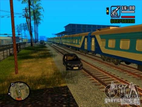 Длинные поезда для GTA San Andreas третий скриншот