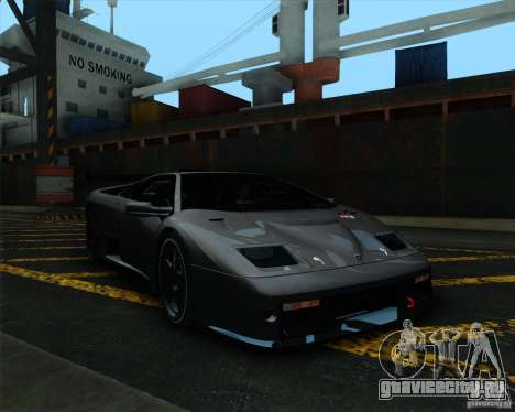 Lamborghini Diablo GTR V1.0 1999 для GTA San Andreas вид слева