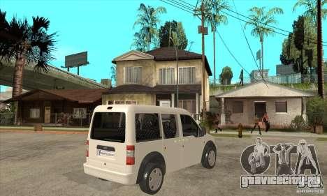 Ford Transit Connect 2007 для GTA San Andreas вид справа