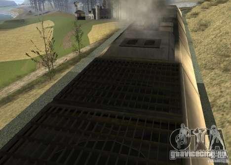 ТЭП70 для GTA San Andreas вид справа
