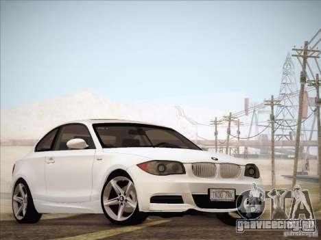 BMW 135i для GTA San Andreas вид слева