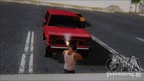 SCAR - H для GTA San Andreas четвёртый скриншот