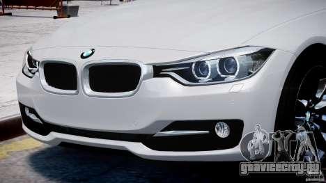 BMW 335i E30 2012 Sport Line v1.0 для GTA 4 двигатель