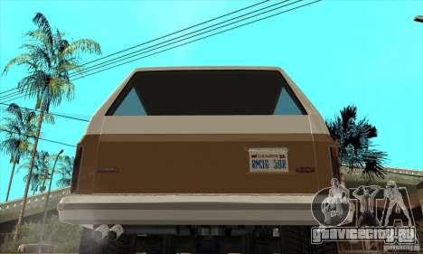 Ford Ranger для GTA San Andreas вид справа