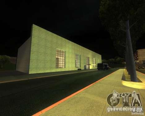 Оживлённый железнодорожный вокзал в Сан Фиерро для GTA San Andreas