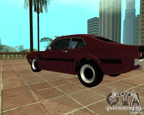 Ford Maverick GT 1977 для GTA San Andreas вид слева
