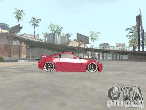 Nissan 350Z v2 для GTA San Andreas вид слева
