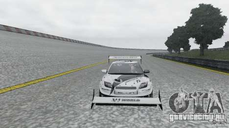 Toyota Team NFS AWD Scion tC для GTA 4 вид справа