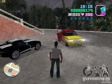 ЗАЗ 968M для GTA Vice City вид сзади слева