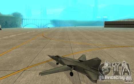 МиГ-23 Flogger для GTA San Andreas вид справа