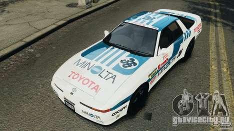 Toyota Supra 3.0 Turbo MK3 1992 v1.0 [EPM] для GTA 4 колёса