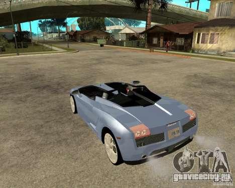 Lamborghini Concept-S для GTA San Andreas вид слева