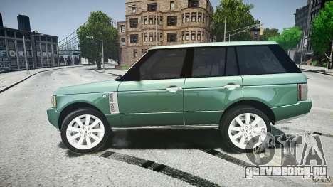 Range Rover Supercharged v1.0 для GTA 4 вид сверху